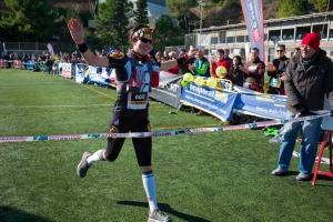 Emma Roca ganadora de Mitja Volta 2013 - Foto: Organización
